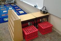 Classroom Design / Flexible seating and age-appropriate classroom set-up