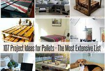 Pallet projects / by Diane Spoklie