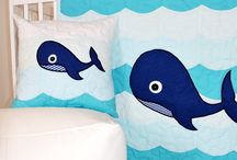 Whale of a Time in Baby's Nursery / Baby Whale in the blue sea, swimming right into the nursery! The beloved marine mammals have a presence under the sea and i. The creatures are a welcome addition to wee ones' nurseries and seem to be popping up everywhere. Check out these marine-inspired items.