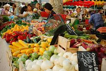 French markets / Browse through the sumptuous local markets in France