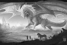 inspiration for dragon tattoo