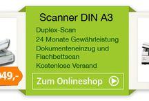 SCANNER / Generaüberholte DIN A3 Dokumentenscanner bei Printego.de