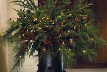Vánoční váza