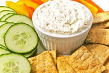 Dips and spreads / Looking for healthy snack or side dish for happy hour.