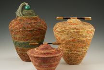 Basket weaving/coiling