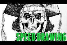 My Drawings / Desenhos, speed arts, etc