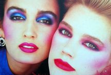 80s Makeup Job