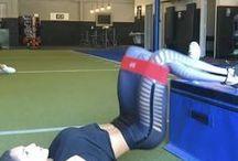 Leg band exercises