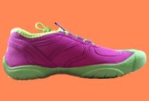 Girls' shoes.