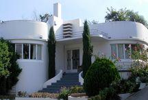 art deco houses