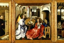 Робер Кампен (нидерл. Robert Campin; ок. 1378 — 26 апреля 1444, Турне) — нидерландский живописец. / Нидерландский живописец Робер Кампен считается основоположником живописной традиции Северного Возрождения .
