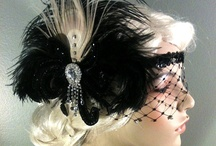 Art Deco head piece