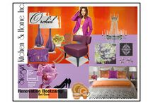 Radiant Orchid / Radiant orchid is a controversial color, but used in combinations with others, it's feminine without being sticky