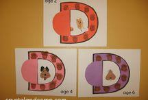 Preschool- ABC practice / by Amy Vega