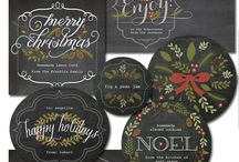 Christmas Label Printables