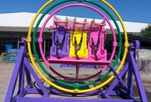Human Gyroscope Ride For Sale / This board will show us some human gyroscope rides which is popular among the amusement parks. If you want to buy, just go to http://bestonamusementrides.com/human-gyroscopes-for-sale/.