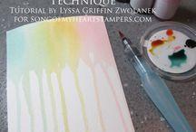 Aqua Painters / Stampin' Up! Aqua Painters