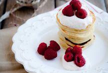 Eat desserts first - pancakes