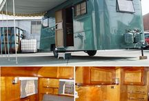 Vintage Travel Trailers / by Crystal Collins