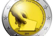 Monedas 2 euros Malta