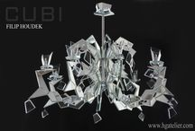 luxury chandelier CUBI / CUBI is luxury chandelier designed by Filip Houdek - HG Atelier Design