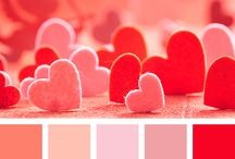 color palettes - valentine