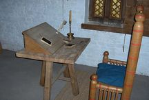 Middelalder møbler