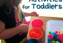 Toddler learning activities : colours