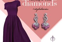 Style Diaries / What is Style for you? A perfect choice of dress!! Yes, but what about the Jewelries that you accessorize your dress with.
