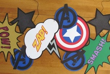 Avengers room / Avengers room! / by Michelle