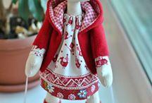 Tilda, fabric dolls & toys