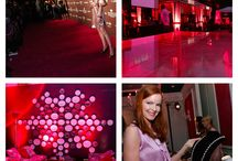 Flashback Friday / #FlashbackFriday: Flashing back to the 2007 Pink Party benefitting women's cancer. As a tribute to the moniker of the event, the venue was lit in differing shades of pinks and guests arrived similarly clad. Think Pink!