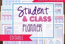 Class Planning Downloads