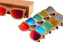 bambusové polarizované okuliare