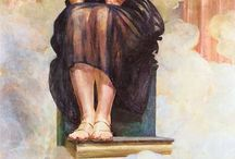 symbolizm / sztuka ostatnia dekada XIXw przekazywano myśli , emocje poprzez stosowanie : -wieloznaczności  -analogii -skojarzeń  odrzucono realizm  dowolna interpretacja obrazu zależnie od intencji odbiorcy   Edward Munch  Jacek Malczewski  Władysław Podkowiński  Józef Mehoffer