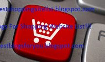 Best Online Shopping Sites List / BSSL is a online shopping website list provider for everything such as furniture, movies, music, games, mobiles, cameras, computers, healthcare and personal products, home appliances and electronics, stationery, perfumes, toys, apparels, shoes, lingeries, jewelry, lifestyle and more. You want to buy any products of any category so please visit to our webpage for additional info about any website for shopping and online stores.