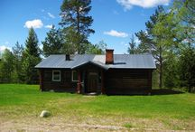 cottages at Tyngsjö Vildmark / rental cottages 1 to 5 persons, whole year open.