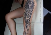 lion ink inspiration / lion tattoos for leos