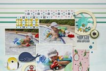 """Inspiration of """"Summer/Travel"""" theme / This board shows the work on the topic """"Summer/Travel"""""""