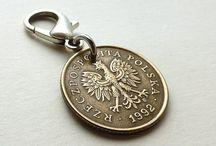 Zipper charms / Coin zipper charms