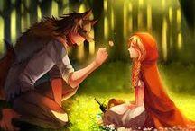 Red Wolf Riding Hood / Rose este fica Scufitei Rosii si a Marelui Lup Rau