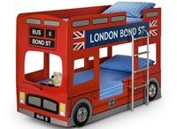 #London themed kid's bedroom