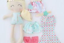 muñecas cojines