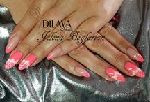 DiLAVA nails / Mijn creaties