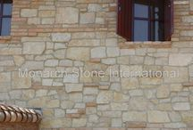 American Limestone: Texas, Kansas Limestone / Monarch Stone International - natural stone experts, your partner in the stone selection process. Interior/exterior architectural/dimension stone, veneers/cladding, flooring, hardscape and other stone paving requirements in American Limestone options.