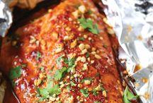 Recept *fisk, skaldjur etc