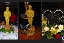 Event Centerpieces - Oscar Theme
