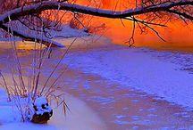 Winter und Schnee / Winter, Schnee, Weihnachten, Natur, Landschaft