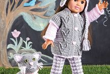 Dolls clothes & dolls houses & furniture