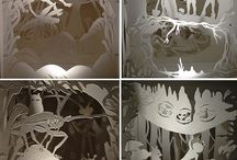 бумажный туннель